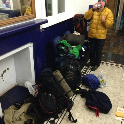 All our gear at station