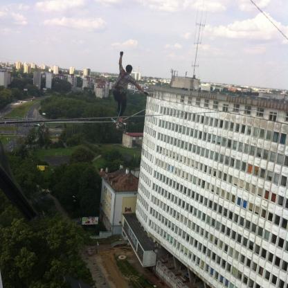 Urban Highline Festival, Lublin, Poland