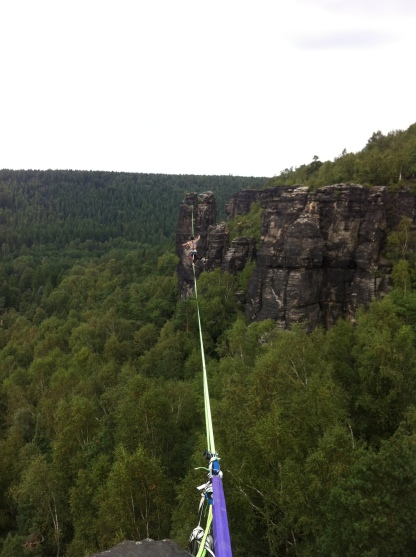 First try of the 100m line in Ostrov, Czech Republic