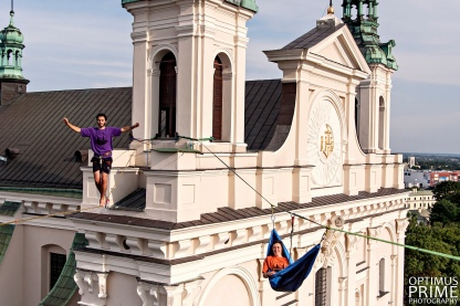 Urban Highline Festival, Lublin, Poland Optimus Prime Photography