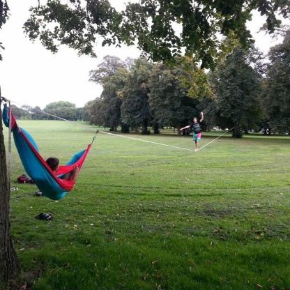 Eastville Park, Bristol, UK